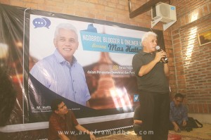 Blogger Jogja Bareng Hatta Radjasa