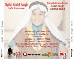 Jual CD Murottal Syekh Rasyid Hafiz Indonesia 2014