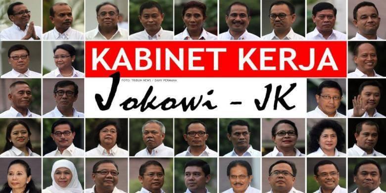 Daftar Nomor Kontak Person Kabinet Kerja Jokowi - JK