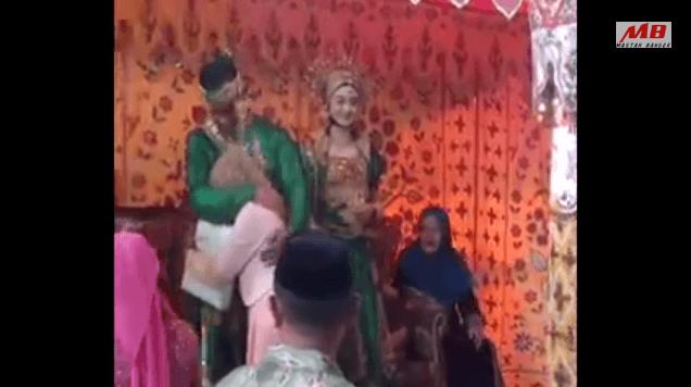 Video Risna Tegar Menghadiri Kawinan Pacarnya Rais di Bulukumba