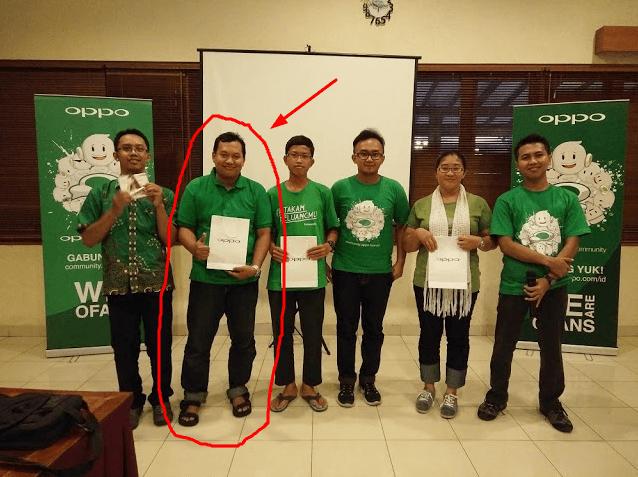 Serunya Menang Livetweet di Kopdar OPPO Community Jogja