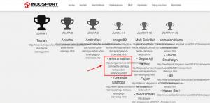 Kontes SEO IndoSport.com