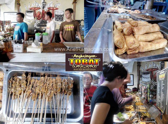 Penampakan Makanan Angkringan Tobat