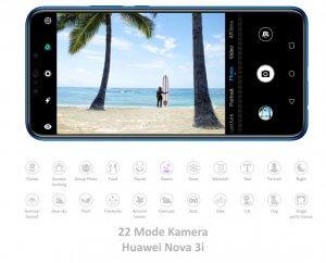 22 Mode Kamera Huawei Nova 3i
