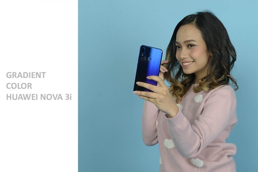 Gradient Color Huawei Nova 3i