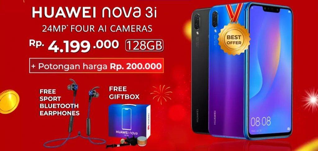 Harga Huawei Nova 3i