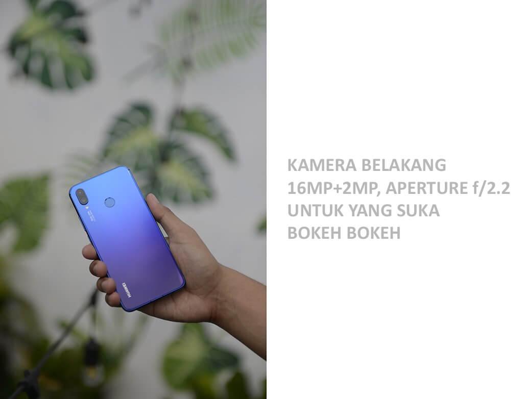 Kamera Belakang Huawei Nova 3i