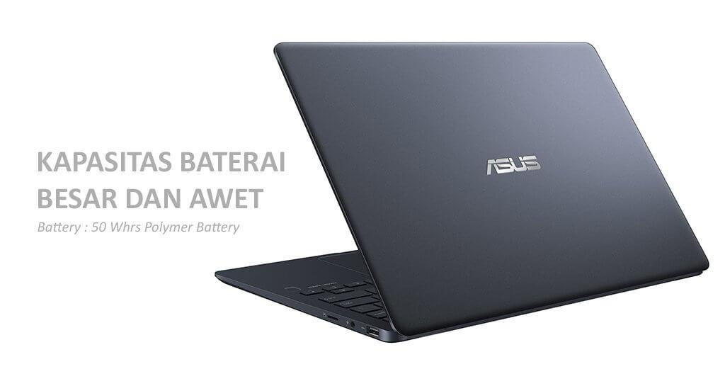 Kapasitas Baterai Besar dan Awet, ASUS ZenBook UX331UAL