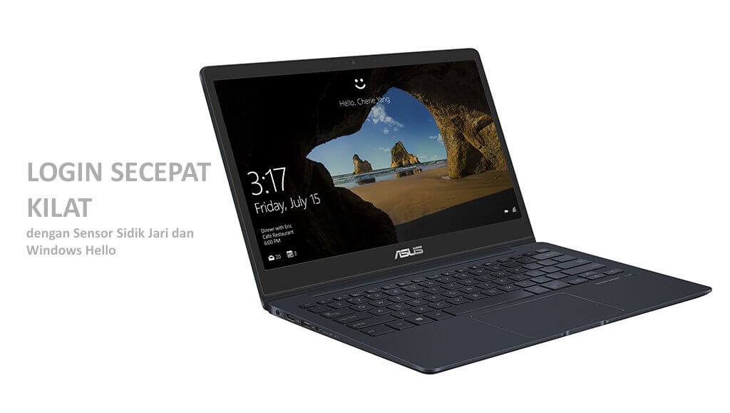 Login Secepat Kilat, ASUS ZenBook UX331UAL