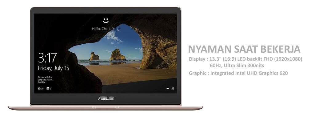 Nyaman Saat Bekerja, ASUS ZenBook UX331UAL