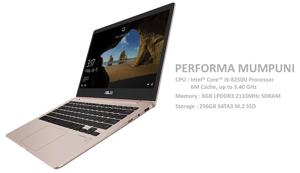 Performa Mumpuni, ASUS ZenBook UX331UAL