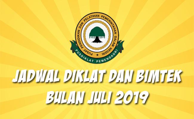 Jadwal Bimtek Pemendagri Juli 2019
