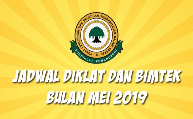 Jadwal Bimtek Pemendagri Mei 2019