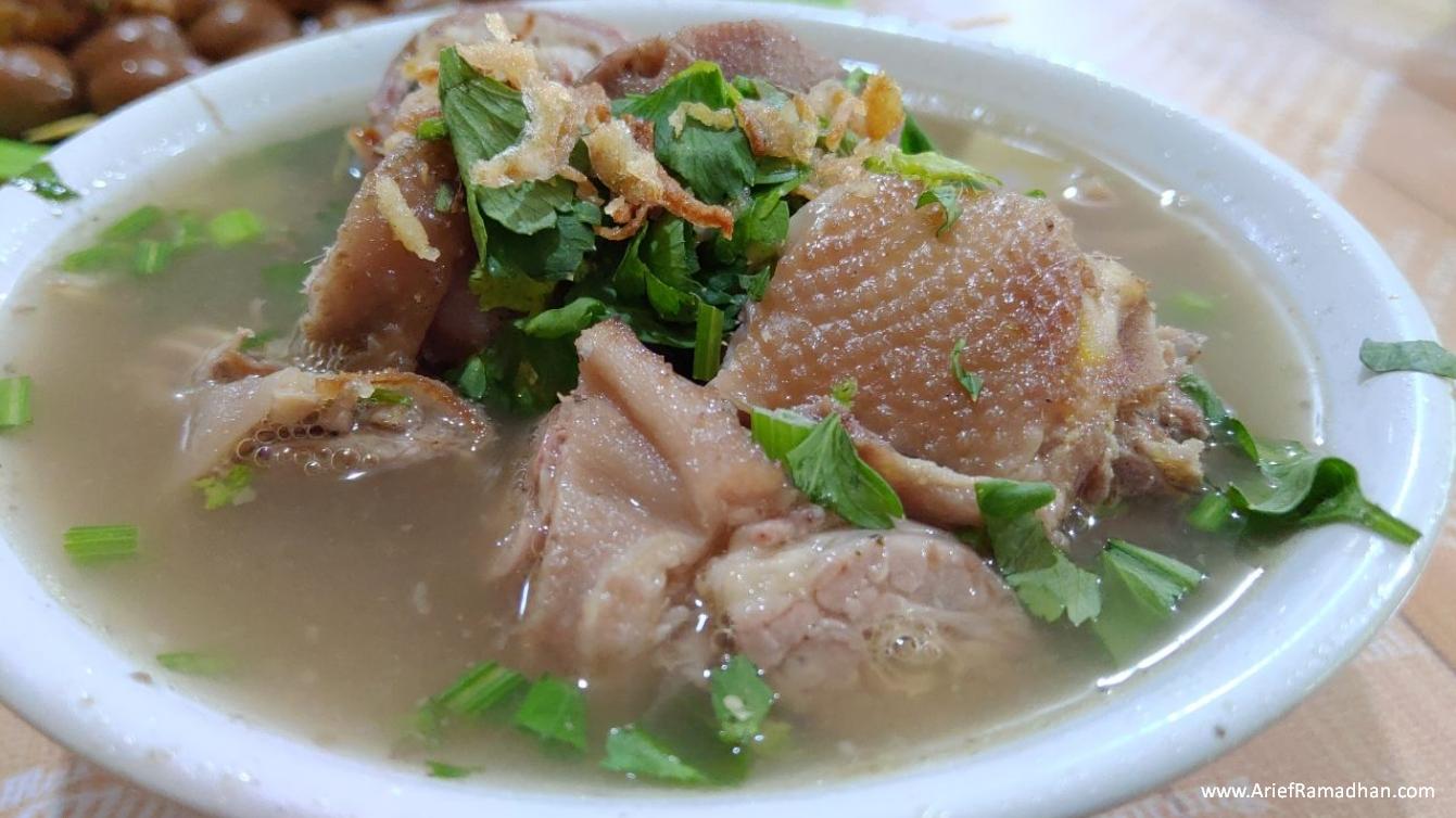 Sop Ayam Klaten Kyai Saleh Pekanbaru