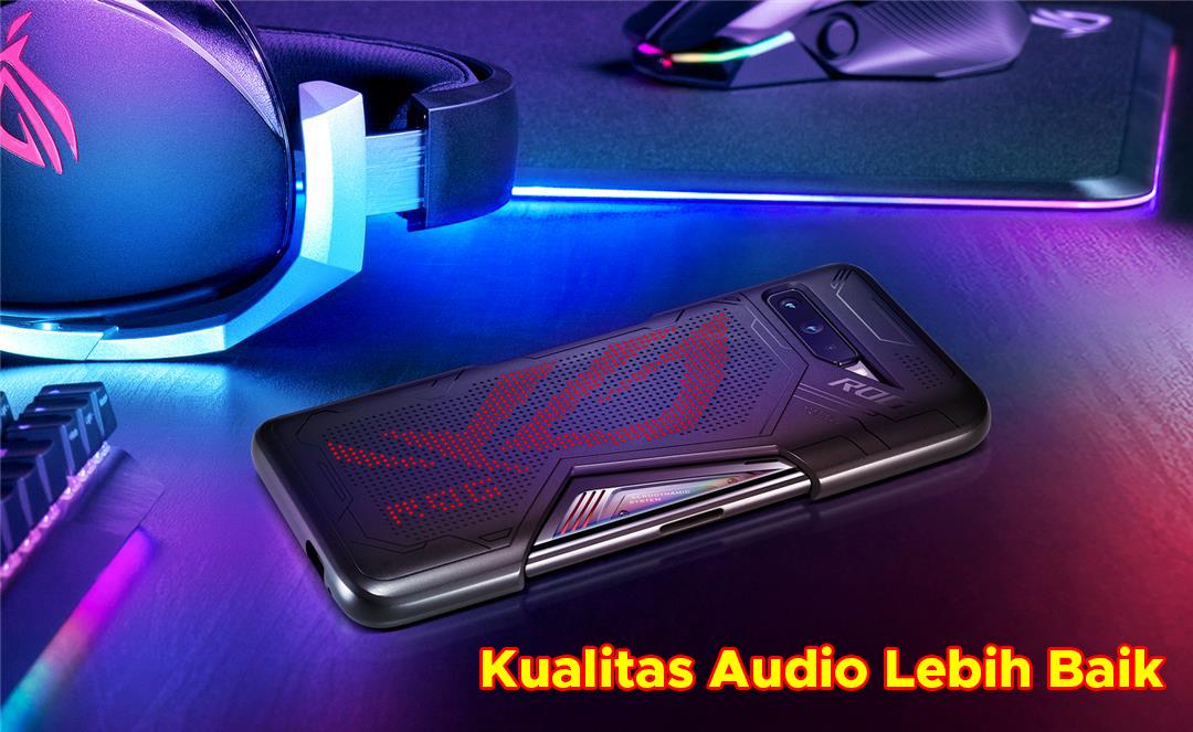 Kualitas Audio Lebih Baik