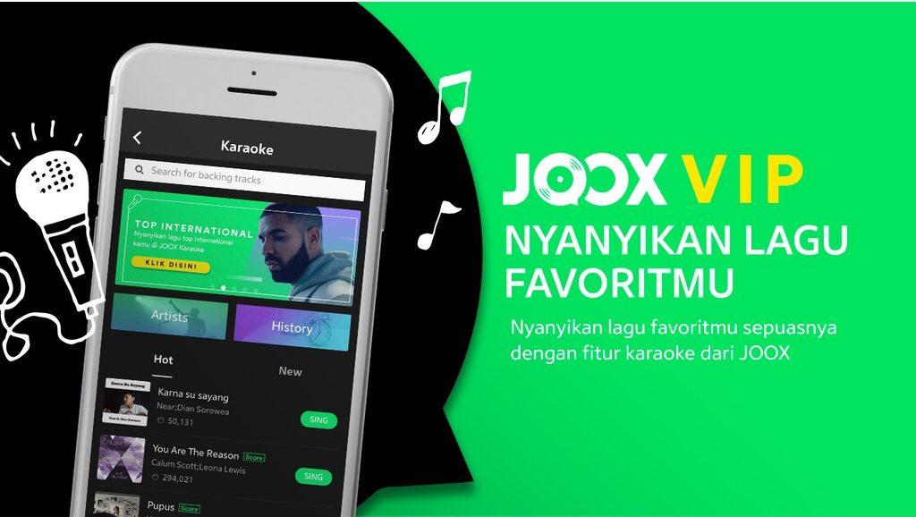 Download JOOX VIP Mod Gratis Permanen Versi Terbaru