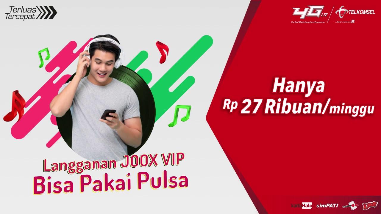 VIP Joox Pakai Pulsa