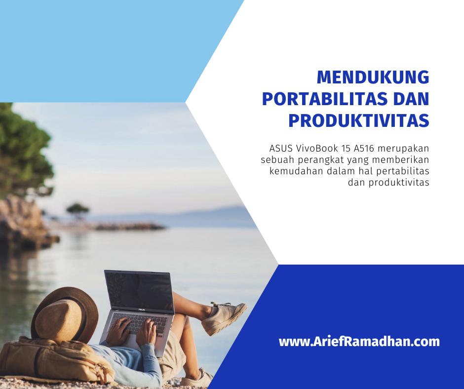 Mendukung Portabilitas dan Produktivitas